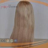 Cutícula cheia do cabelo superior do Virgin Intact na peruca judaica do cabelo de Remy da classe (PPG-c-0113)