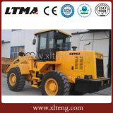 Ltma 4 Tonnen-Rad-Ladevorrichtung mit der Kapazität der Wannen-2.5m3