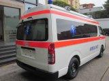 Toyota Hiace 4x4 Techo alto 2.7L gasolina Rhd ambulancia