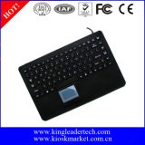 Teclado magro super do silicone IP68 com Touchpad Integrated