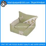 Base supplementare dell'animale domestico di vendita del sofà di lusso accogliente lavabile caldo dell'animale domestico grande
