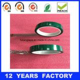 열저항 절연제 녹색 애완 동물 PCB 생산을%s 널리 이용되는 접착성 Eletrical 테이프