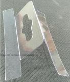 Cheville en plastique transparente de PVC pour Packading