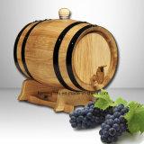 Het hoogste Houten Wijnvat Van uitstekende kwaliteit van de Verkoop met 5L 10L 225L