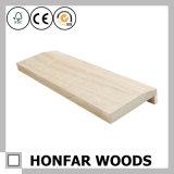 Нормальная деревянная древесина дверной рамы цвета отливая в форму для декора