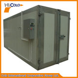 Colo-2915 손수레를 가진 건조용 난로를 치료하는 전기 배치 분말