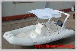 5.8m, barca della nervatura di Hypalon dell'orca della nervatura del PVC