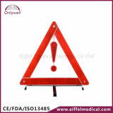 Alerta reflexiva del triángulo de la seguridad del coche de los primeros auxilios