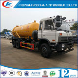 Camion à haute pression d'aspiration d'eaux d'égout du volume 5cbm de réservoir