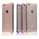 Corners Cushion Clear TPU Cover Bumper Case para Apple iPhone 6 / 6s 4.7-Inch