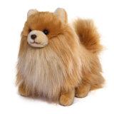 Brinquedo feito sob encomenda enchido do luxuoso do cão