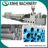 Ligne chaîne d'extrusion de pipe de la chaîne de production de pipe de PVC de Jumeau-Vis/CPVC de production de pipe de /UPVC