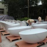 China por mayor superficie sólida Corian Bañera de piedra