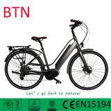 Vélo électrique de MI d'entraînement de manivelle ville de moteur avec le détecteur de couple aidé