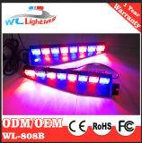 48 LED-Masken-Emergency WARNING-aufgeteilte Montage-heller Stab (bernsteinfarbig)