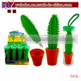 Suministros escolares regalo de la promoción Lollipop pluma plumas de la promoción (P2129)