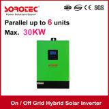 hybride de 1kVA 2kVA 3kVA 4kVA sur outre de l'inverseur d'énergie solaire de réseau pour l'usage à la maison