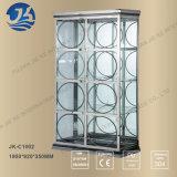 Heiße Verkaufs-Wohnzimmer-Möbel-Metallstandplatz-Regal-Zahnstange für Kunst-Arbeits-Bildschirmanzeige