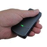 Mini teléfono móvil Handheld y emisión de la señal del GPS