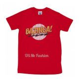 T-shirt fait sur commande de coton d'hommes de qualité de Hallowmas