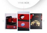 Retro Multifunctionele Afneembare Luxe die de Chinese MDF Doos van de Wijn verpakken
