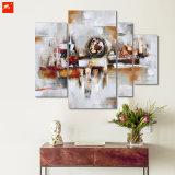 Conjunto geométrico abstracto de la pintura al óleo de los bloques