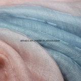 Silk Wollen gemischtes gefärbtes gesponnenes Scarve (AFS10004049)