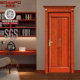 Type de porte d'entrée et porte extérieure de finition en bois solide (GSP2-025)