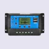 12V/24V 10A 20A 30A自動PWMの太陽料金のコントローラ