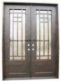 Schöne direkte Sicherheits-kundenspezifische Eisen-Vorderseite-Eintrag-Tür China-Facotry