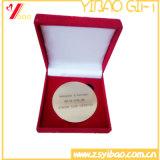 상자 기념품 선물 (YB-HD-140)를 가진 주문 로고 고품질 두 배 동전