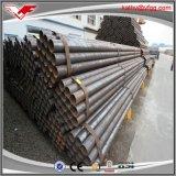 Tubo de acero profesional del fabricante ERW/precio soldado del tubo de acero de carbón