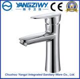 Grifo del lavabo del cuarto de baño del orificio de la sola maneta del cromo solo (YZ5084)