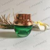 choc 30g cosmétique en verre vert-foncé pour l'empaquetage de Skincare (PPC-GJ-014)