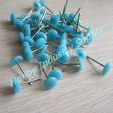 가구 27mm 파랑 색깔 실내 장식품 못 플라스틱 헤드 Pin