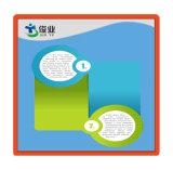Escritura de la etiqueta de papel antifalsificación para el seguimiento del documento