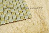 Cuatro color oro Tiburón mosaico de cristal