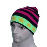 Mehrfarbenqualitäts-Pentagram gestrickter Hut