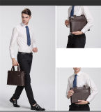 Bolsas dos homens, sacos dos homens horizontais, saco do negócio dos homens, saco de ombro dos homens, pasta, saco dos homens