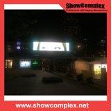 Visualización de LED al aire libre a todo color de la esquina P10 para hacer publicidad con el panel impermeable