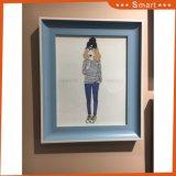 حادّة يبيع نوع خيش [أيل بينتينغ] جدار فنية لأنّ [شلد رووم] زخرفة