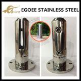 ステンレス鋼のガラス塀ガラスの栓