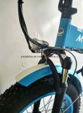 [36ف] درّاجة كهربائيّة [إ] سمين يطوي درّاجة سمين مع [إكسوفو] محرّك محرّك كثّ مكشوف