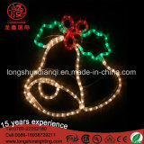 LED 크리스마스 제 2 Xmas 밧줄 빛 30*30cm 방수 옥외가 새로운 디자인 눈사람에 의하여 주제 빛 점화한다