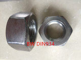 Noix DIN934 d'acier inoxydable