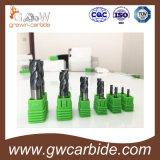 Тонкий угольник карбида вольфрама/торцевая фреза носа шарика с HRC50/60