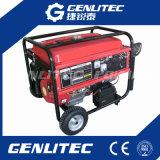 gerador para casa de refrigeração ar da gasolina do uso de 4-Stroke 5kw com rodas