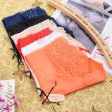 Culottes sexy de femmes de lacet de coton de qualité