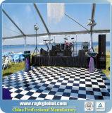 Alta calidad Dance Floor y Dance Floor Polished de madera de alquiler con el marco de aluminio