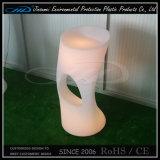 PE verlichtte het Materiële Nieuwe Product de Moderne Kleurrijke LEIDENE Stoel van de Staaf